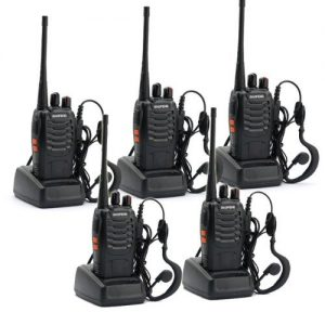5 Pack BaoFeng BF-888S Long Range UHF 400-470 MHz 5W CTCSS DCS Review
