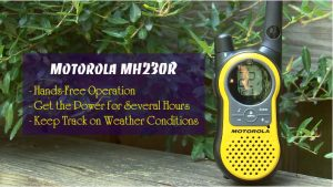 Motorola MH230R Rechargeable Two Way Radio 4 Pack Review